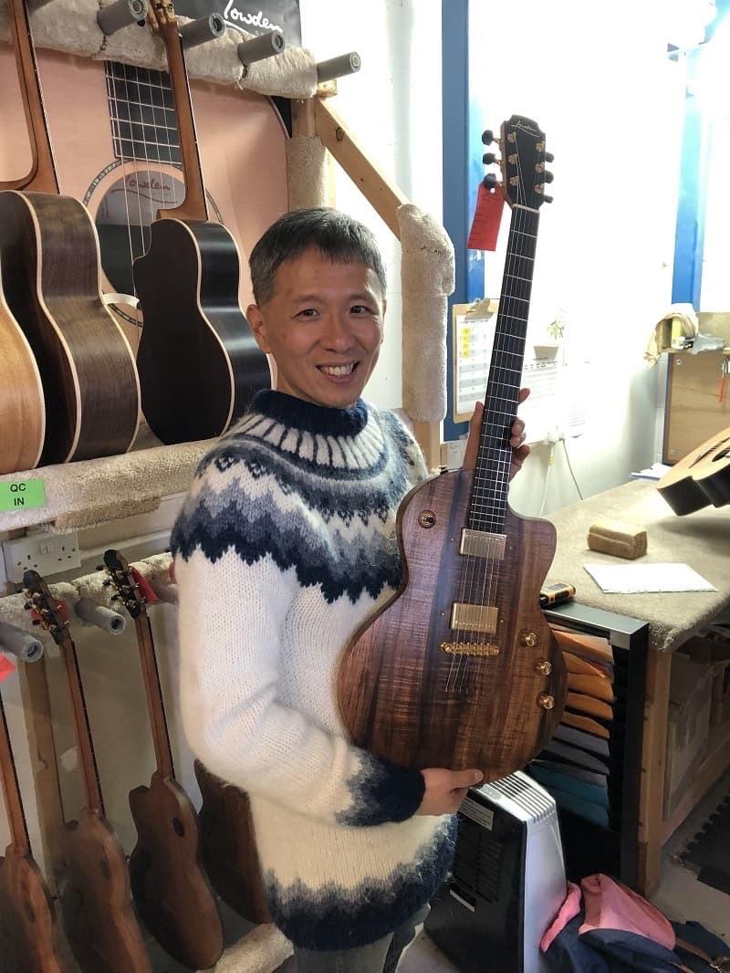張瑞彥.lowden吉他